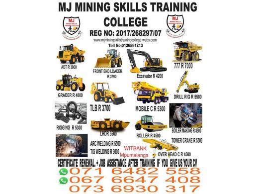Drill Rig Training in Ermelo Nelspruit Carolina Witbank Kriel secunda 0716482558/0736930317, Witbank -  South Africa