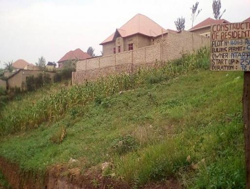 Plot for sale gisozi, Kigali -  Rwanda
