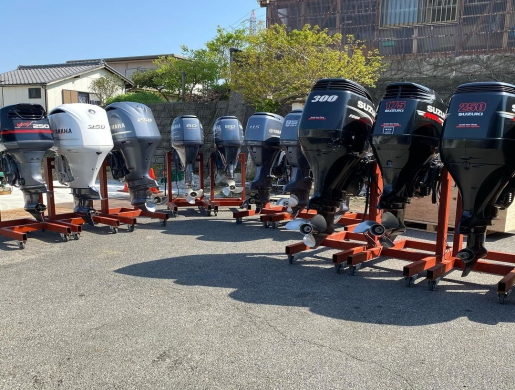 We sell NEW and USED MODEL OF OUTBOARD MOTOR ENGINES, Bamako -  Mali