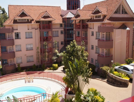 Westlands, Rhapta Rd one bedroom fully furnished penthouse. , Nairobi -  Kenya
