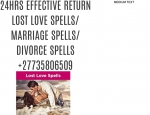 24hrs Effective Return Lost Love Spells@ Spiritual Herbalist Healer & Traditional Healer +27735806509