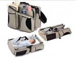 3 in 1 Diaper Bag/ Travel Bassinet