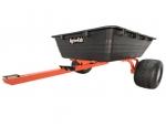 Agri-Fab 17 Cubic Foot Poly Swivel ATV Dump Cart