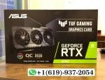 ASUS TUF Gaming GeForce RTX 3090 OC 24GB GDDR6X Graphics Card *FREE SHIPPING*