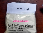 Etizolam powder Email: like@senyangchem.com WhatsApp: +8618231937837