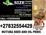 mutuba seed and oil for 100% penis enlargement +27832554429
