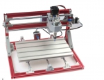 storm 3axis mini desktop red and silver cnc 3018 pcb cnc engraving machine