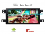 Zotye Domy X7 Car radio Video android GPS navigation camera