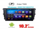 Zotye T600 Car audio radio update android GPS navigation camera